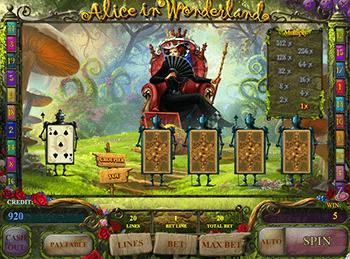 Игровой автомат Alice In Wonderland - фото № 1