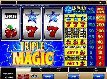 Игровой автомат Triple Magic - фото № 1