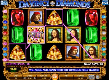 Игровой автомат Da Vinci Diamonds: Dual Play - фото № 3