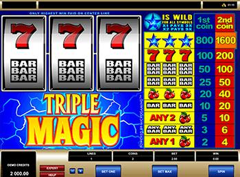 Игровой автомат Triple Magic - фото № 3