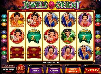 Игровой автомат Jewels Of The Orient - фото № 1