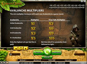 Игровой автомат Gonzo's Quest - фото № 2