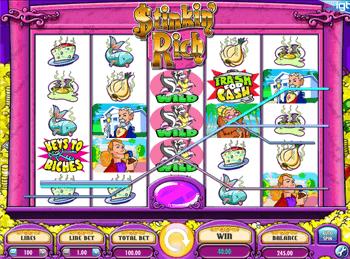 Игровой автомат Stinkin Rich - фото № 3
