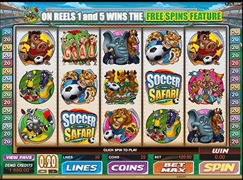 Игровой автомат Soccer Safari - фото № 2