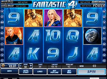 Игровой автомат Fantastic Four - фото № 4