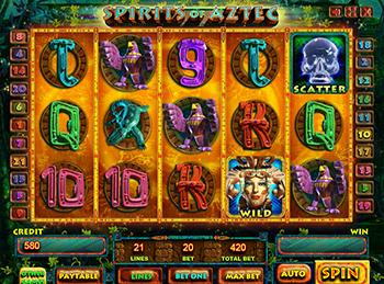 Игровой автомат Spirits Of Aztec - фото № 2