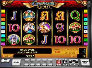 Игровой автомат Gryphon\'s Gold - фото № 1