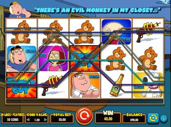 Игровой автомат Family Guy - фото № 1