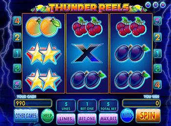 Игровой автомат Thunder Reels - фото № 3