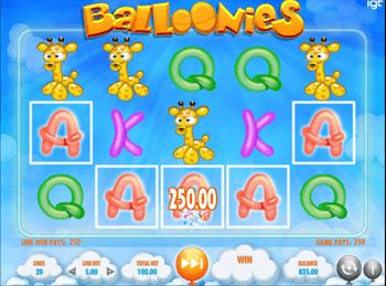 Игровой автомат Balloonies - фото № 2