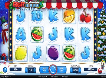 Игровой автомат Fruit Shop Christmas Edition - фото № 1