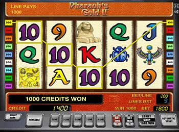 Игровой автомат Pharaohs Gold 2 - фото № 1