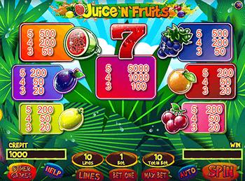 Игровой автомат Juice And Fruits - фото № 6
