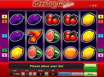 Игровой автомат Sizzling Hot Deluxe - фото № 6