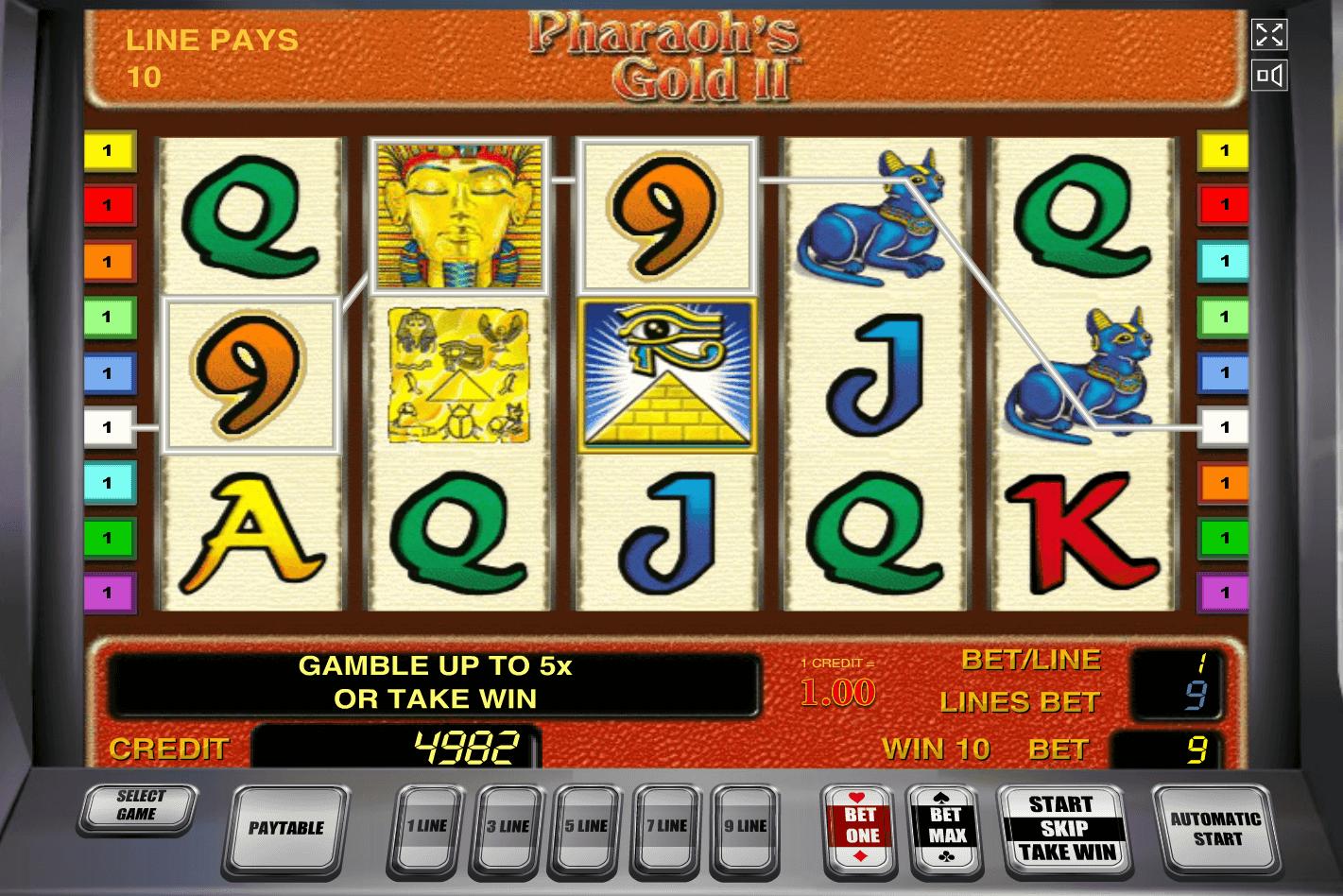 Игровой автомат Pharaohs Gold 2 - фото № 3