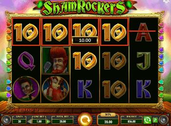 Игровой автомат Shamrockers - фото № 3