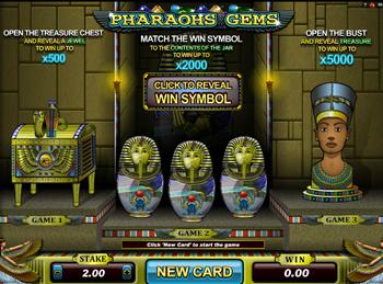 Игровой автомат Pharaohs Gems - фото № 1