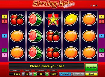 Игровой автомат Sizzling Hot Deluxe - фото № 5