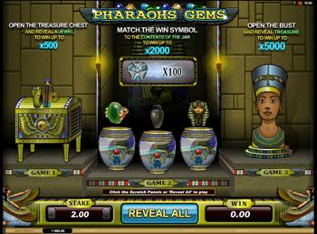 Игровой автомат Pharaohs Gems - фото № 2