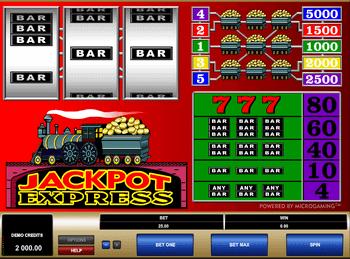 Игровой автомат Jackpot Express - фото № 4