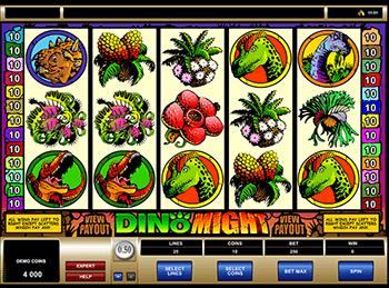 Игровой автомат Dino Might - фото № 1