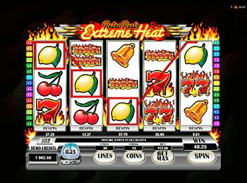 Игровой автомат Retro Reels Extreme Heat - фото № 1