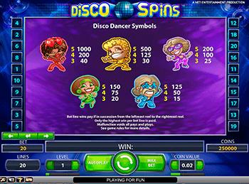 Игровой автомат Disco Spins - фото № 1
