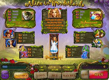 Игровой автомат Alice In Wonderland - фото № 5