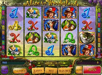 Игровой автомат Alice In Wonderland - фото № 4