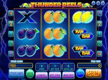 Игровой автомат Thunder Reels - фото № 2