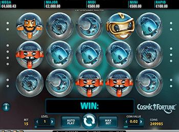 Игровой автомат Cosmic Fortune - фото № 4