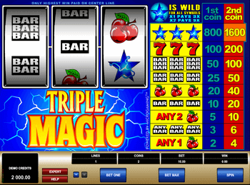 Игровой автомат Triple Magic - фото № 2