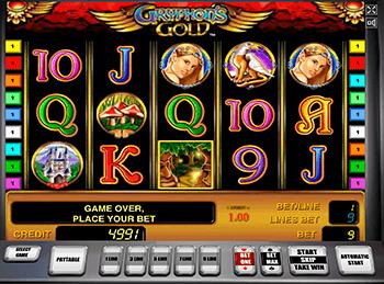 Игровой автомат Gryphon\'s Gold - фото № 2