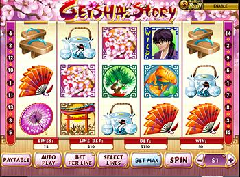 Игровой автомат Geisha Wonders - фото № 1