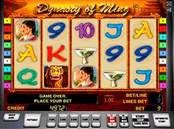 Игровой автомат The Ming Dynasty - фото № 1